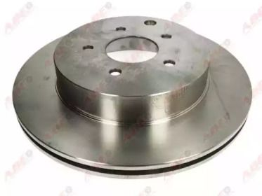 Вентилируемый тормозной диск на Ниссан 350З 'ABE C41041ABE'.
