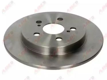 Тормозной диск на Тайота Приус 'ABE C42077ABE'.