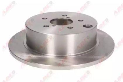 Тормозной диск на Субару Форестер 'ABE C47009ABE'.