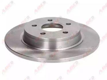 Задний тормозной диск на Вольво В40 'ABE C4G014ABE'.