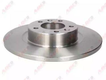Тормозной диск на Пежо 508 'ABE C4P012ABE'.
