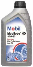 Масло осевого редуктора 'MOBIL 142132'.