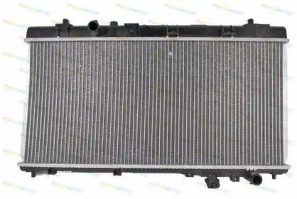 Алюмінієвий радіатор охолодження двигуна на MAZDA PREMACY THERMOTEC D73007TT.
