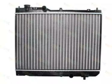 Алюмінієвий радіатор охолодження двигуна на Мазда Премаси THERMOTEC D73011TT.