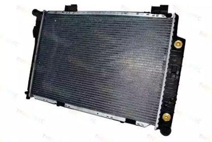 Алюмінієвий радіатор охолодження двигуна на Mercedes-Benz W210 THERMOTEC D7M010TT.