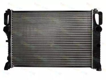 Радіатор охолодження двигуна на Мерседес W211 THERMOTEC D7M028TT.