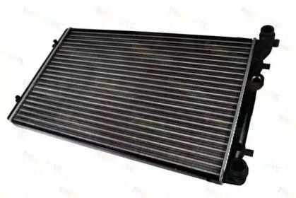 Алюминиевый радиатор охлаждения двигателя на SEAT LEON 'THERMOTEC D7W001TT'.