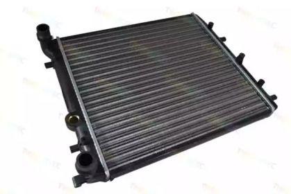 Алюмінієвий радіатор охолодження двигуна на Шкода Румстер 'THERMOTEC D7W005TT'.