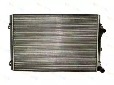 Радиатор охлаждения двигателя на Шкода Октавия А5 'THERMOTEC D7W060TT'.