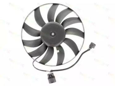 Вентилятор охлаждения радиатора на SKODA OCTAVIA A5 'THERMOTEC D8W034TT'.
