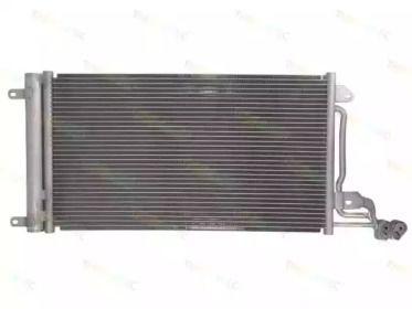 Радіатор кондиціонера на Шкода Румстер 'THERMOTEC KTT110042'.