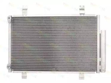 Радіатор кондиціонера 'THERMOTEC KTT110073'.