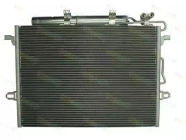 Радіатор кондиціонера на Mercedes-Benz W211 THERMOTEC KTT110142.