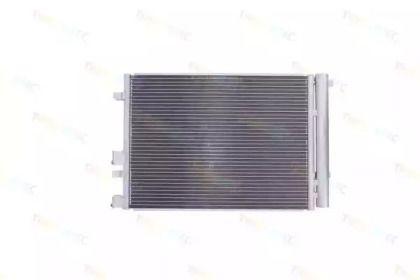 Радіатор кондиціонера на SKODA OCTAVIA A7 'THERMOTEC KTT110433'.