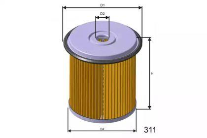 Фильтр топливный дизель 'MISFAT F682'.