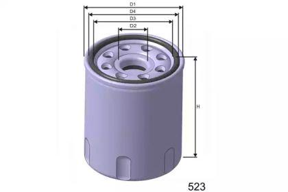 Масляный фильтр 'MISFAT Z266'.
