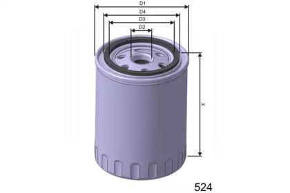 Масляний фільтр MISFAT Z213.