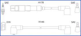 Високовольтні дроти запалювання на Мерседес Г Клас  HITACHI 134755.