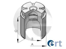 Задній поршень супорта на Мазда СХ5 ERT 150578-C.