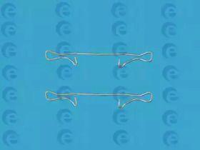 Скоби гальмівних колодок на Мерседес W210 ERT 420006.