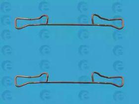 Скобы тормозных колодок на Фольксваген Гольф ERT 420036.