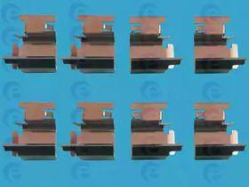 Скобы тормозных колодок на Шкода Октавия А5  ERT 420044.