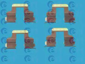 Скобы тормозных колодок на SEAT ALTEA 'ERT 420047'.