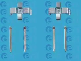 Скоби гальмівних колодок на Мерседес W210 ERT 420050.