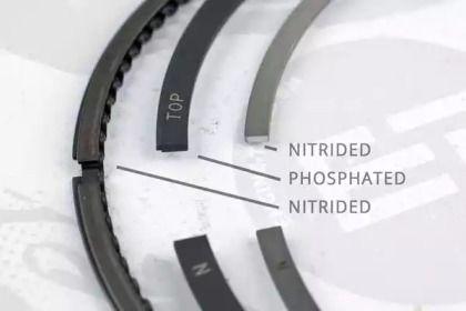 Комплект поршневых колец на SEAT ALTEA 'ET ENGINETEAM R1005700'.