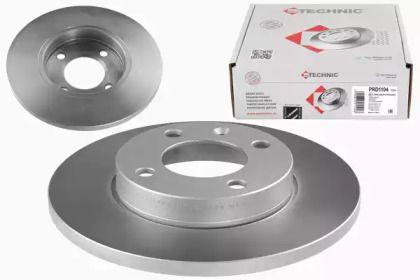 Тормозной диск 'PROTECHNIC PRD1104'.