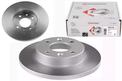 Тормозной диск на DACIA SANDERO 'PROTECHNIC PRD1105'.