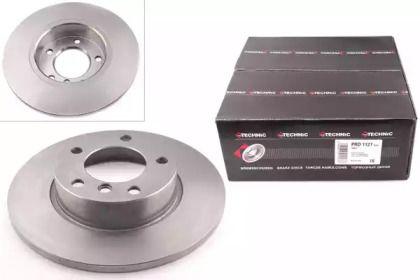 Тормозной диск на BMW Z3 'PROTECHNIC PRD1127'.