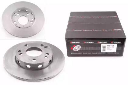 Тормозной диск на MERCEDES-BENZ 190 'PROTECHNIC PRD1129'.