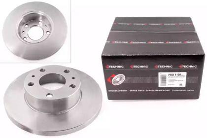 Тормозной диск на Фиат Дукато 'PROTECHNIC PRD1130'.