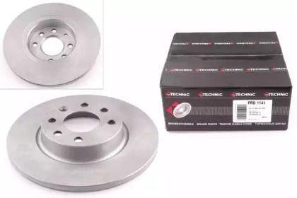 Тормозной диск на Вольво 480 'PROTECHNIC PRD1141'.
