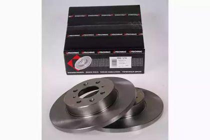 Тормозной диск PROTECHNIC PRD1216.