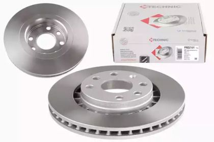 Вентилируемый тормозной диск на DAEWOO ESPERO 'PROTECHNIC PRD2101'.