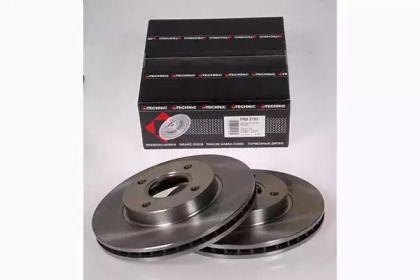 Вентилируемый тормозной диск на FORD COUGAR PROTECHNIC PRD2103.