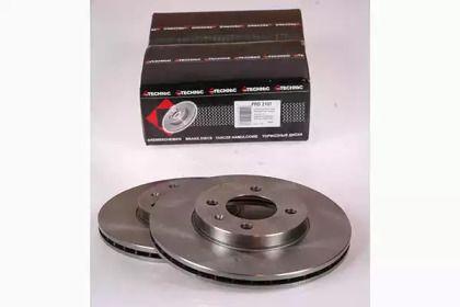 Вентилируемый тормозной диск на SEAT INCA 'PROTECHNIC PRD2107'.