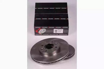 Вентилируемый тормозной диск на RENAULT LAGUNA 'PROTECHNIC PRD2114'.