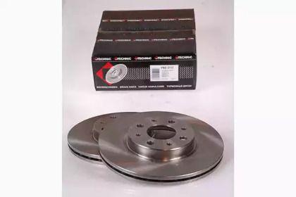 Вентилируемый тормозной диск на FIAT PALIO 'PROTECHNIC PRD2117'.