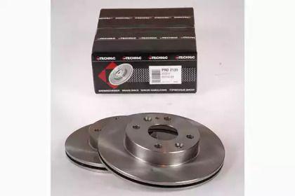 Вентилируемый тормозной диск на Мазда 121 'PROTECHNIC PRD2135'.