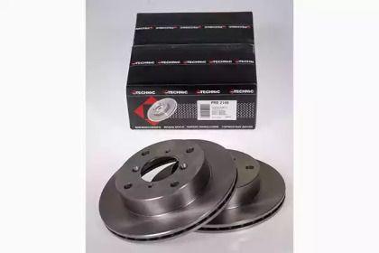Вентилируемый тормозной диск на Сузуки Альто 'PROTECHNIC PRD2149'.