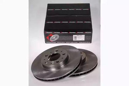 Вентилируемый тормозной диск на Вольво С90 'PROTECHNIC PRD2161'.