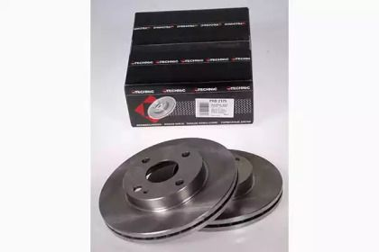 Вентильований гальмівний диск на MAZDA DEMIO PROTECHNIC PRD2175.