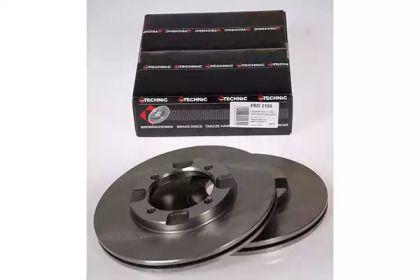 Вентилируемый тормозной диск PROTECHNIC PRD2189.