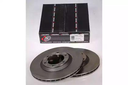 Вентилируемый тормозной диск на ISUZU CAMPO 'PROTECHNIC PRD2191'.