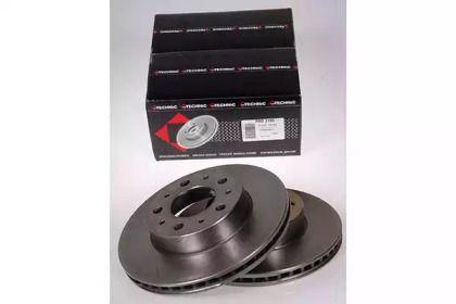 Вентилируемый тормозной диск на VOLVO 780 'PROTECHNIC PRD2195'.