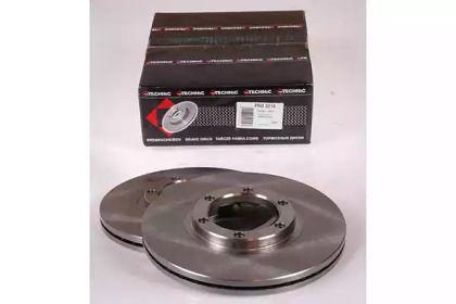 Вентилируемый тормозной диск на ISUZU GEMINI 'PROTECHNIC PRD2214'.