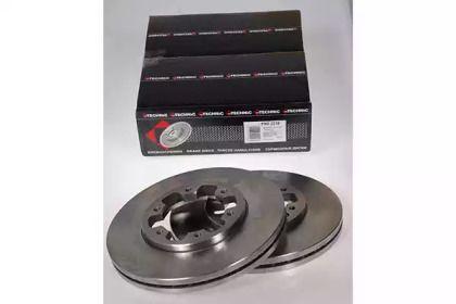 Вентилируемый тормозной диск на FORD MAVERICK 'PROTECHNIC PRD2216'.